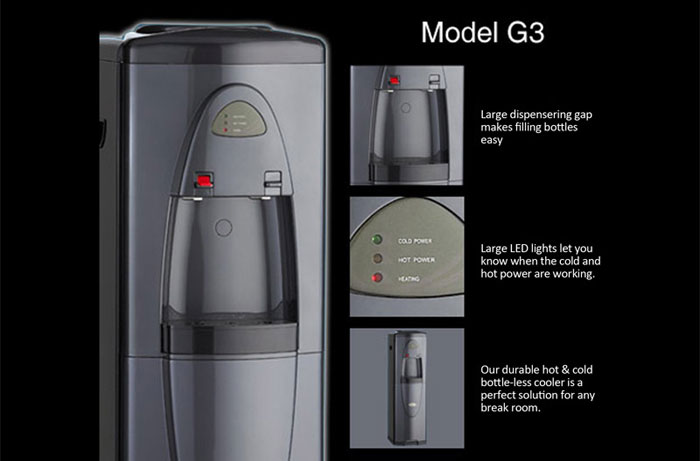 G3 Hot Cold In Executive Gray
